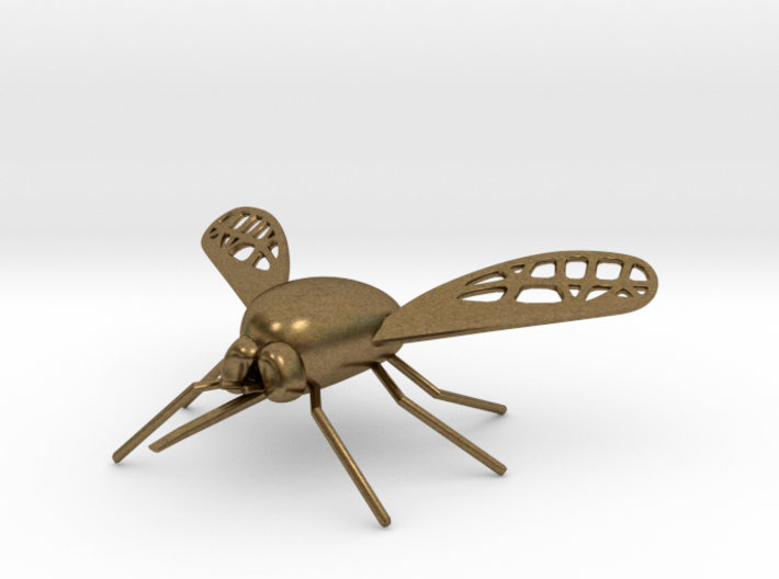 Bee Fly Pendant 3d printed