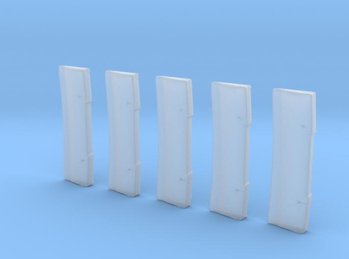 Balken Hinten 5Stück 3d printed