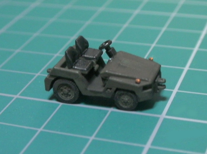 1/144 JASDF 2t Tow Tractor 3d printed