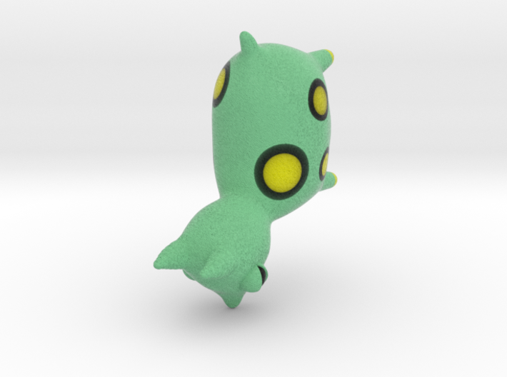 Green Spotted Animal 3d printed