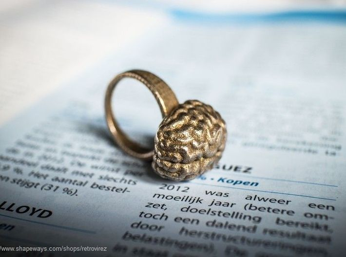 Intelligent Brain Ring 3d printed