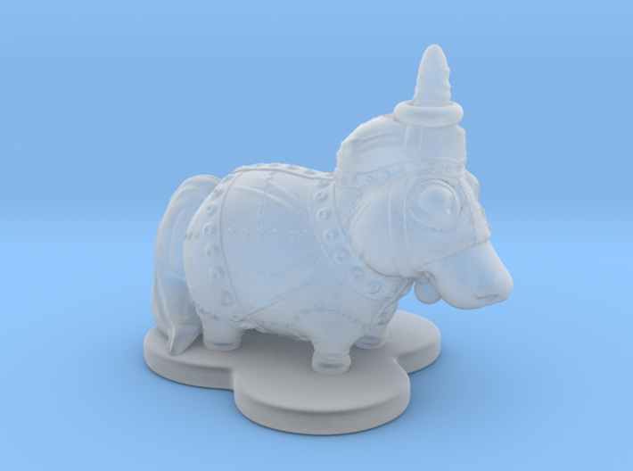 Shades of Clumsycorn 3d printed