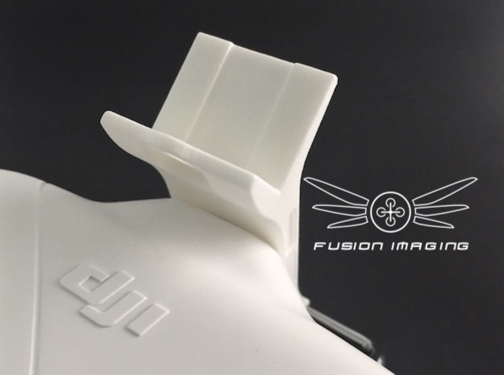 FPV Monitor Mount for DJI Phantom 3d printed FPV Monitor Mount for DJI Phantom
