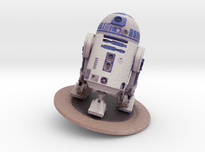 R2-D2 Unit By Fountain Head College Of Technology 3d printed