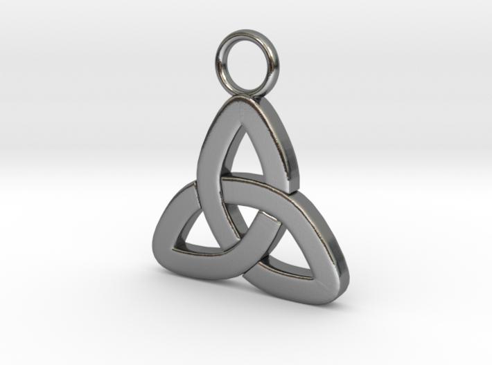 Triquetta Pendant 3d printed