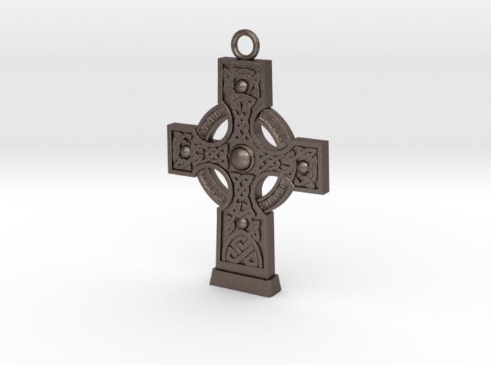 Celticcross1 Necklace 3d printed