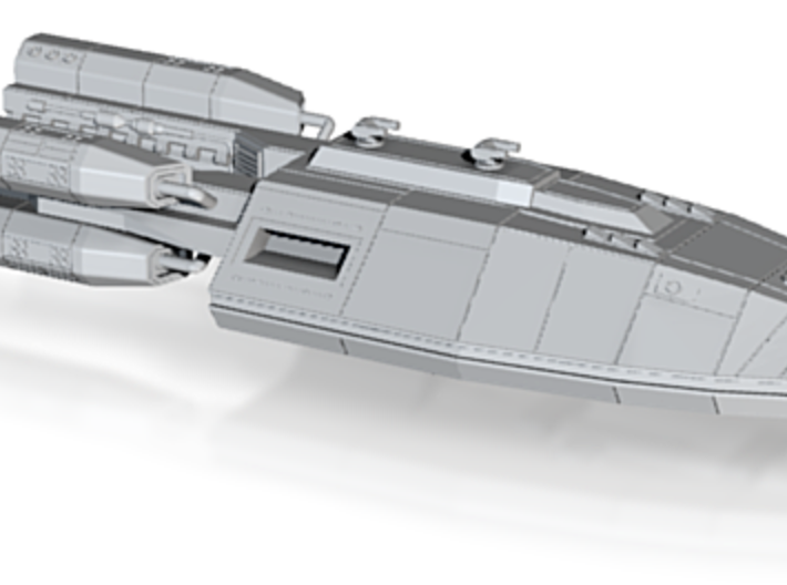 Argent class spaceship 3d printed