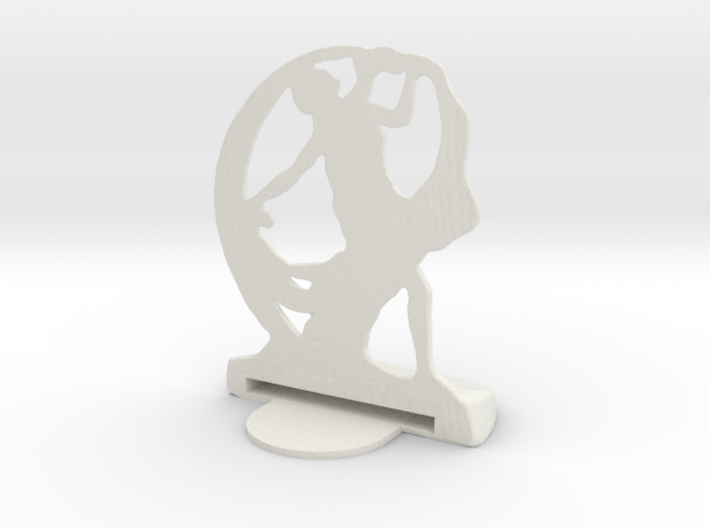 Art Deco Bookend with foot 3d printed Best color to use with Gold paint