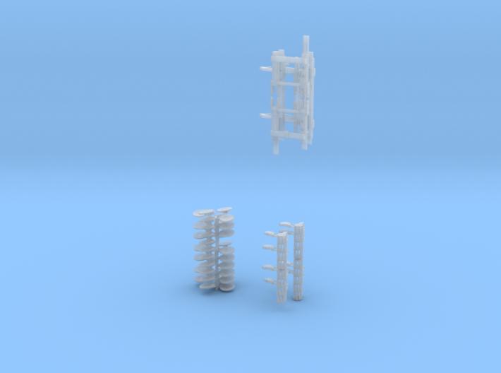 1/64 Dominator #4 Baskets 3d printed