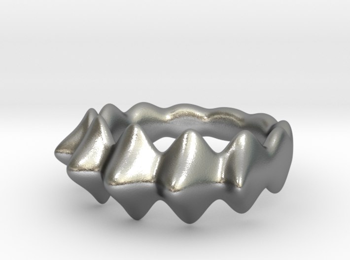 Nubby Ring 3d printed
