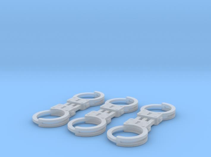 1/8 scale m2 Handcuffs 3d printed