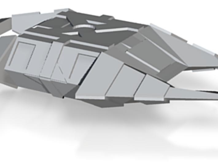 Cabal Stealth Ship (ENT) 1/7000 3d printed