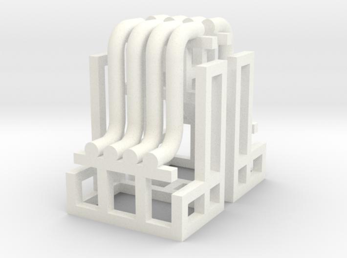 N Pipe Rack Riser 10mm 2pc 3d printed