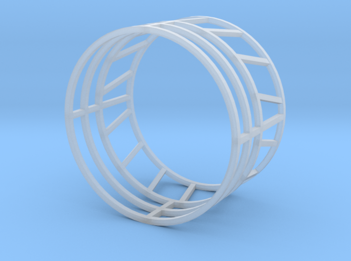 Round Bale Feeder 3d printed