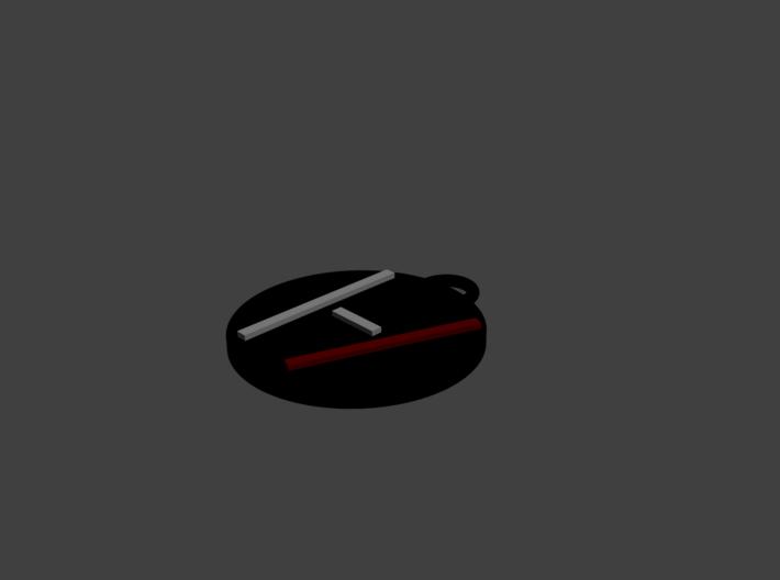Twenty One Pilots - Logo Pendant - Blurryface 3d printed