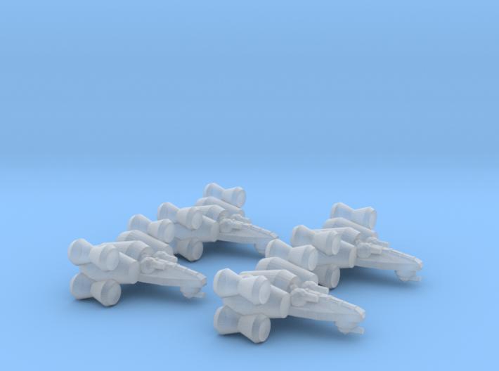 Alliance Interceptor Wing 3d printed