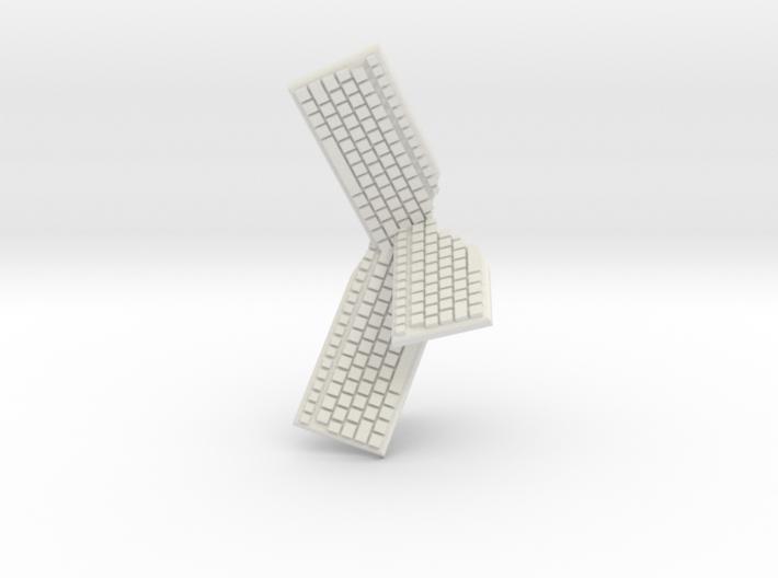 Cluster of Keyboards 3d printed
