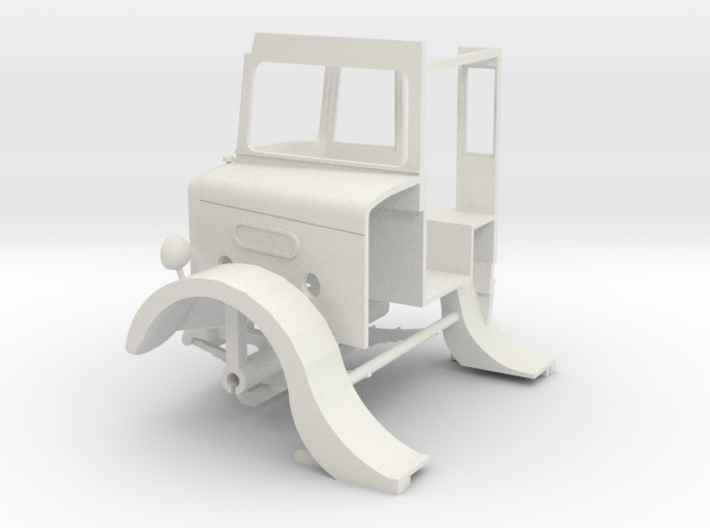 1:43 London Transport STL11-Cab 3d printed