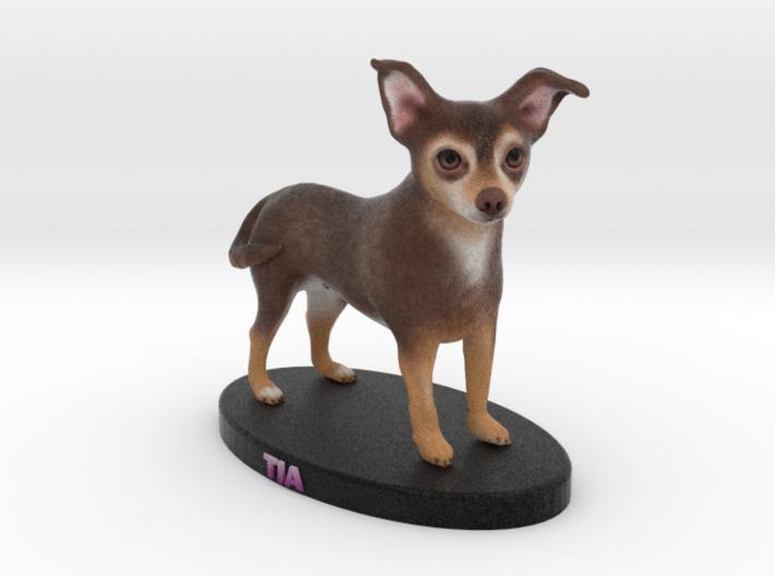 Custom Dog Figurine - Tia 3d printed