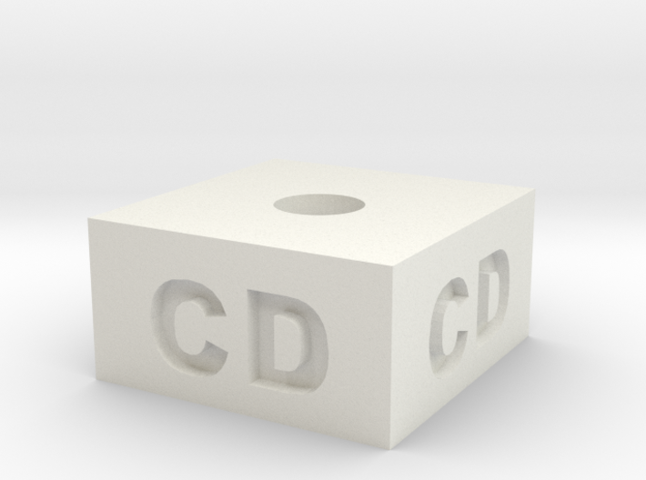 Chime Candle Holder - CD 3d printed