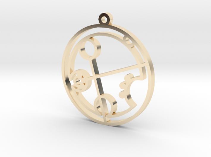 Brandi - Necklace 3d printed