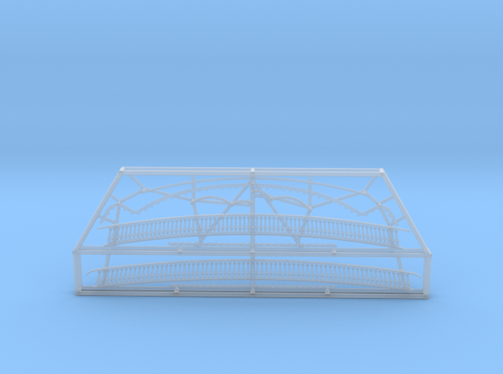 1:84 HMS Victory Stern Gallery Decoration 3d printed