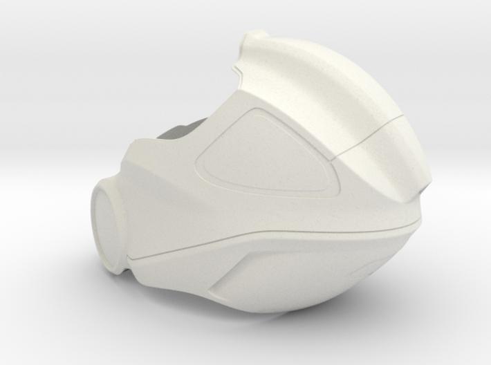 Aidan's Helmet_ Part 1 of 3 3d printed