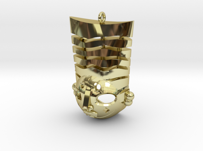 Pasha pendant 3d printed