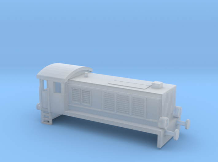 WR 360 / V36 Diesel Switcher Body Z-Scale 1/220 3d printed