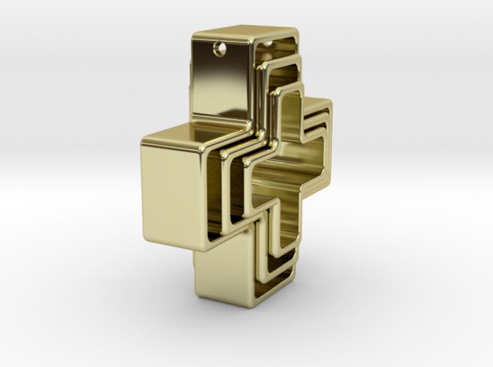 Golden Kross 3d printed