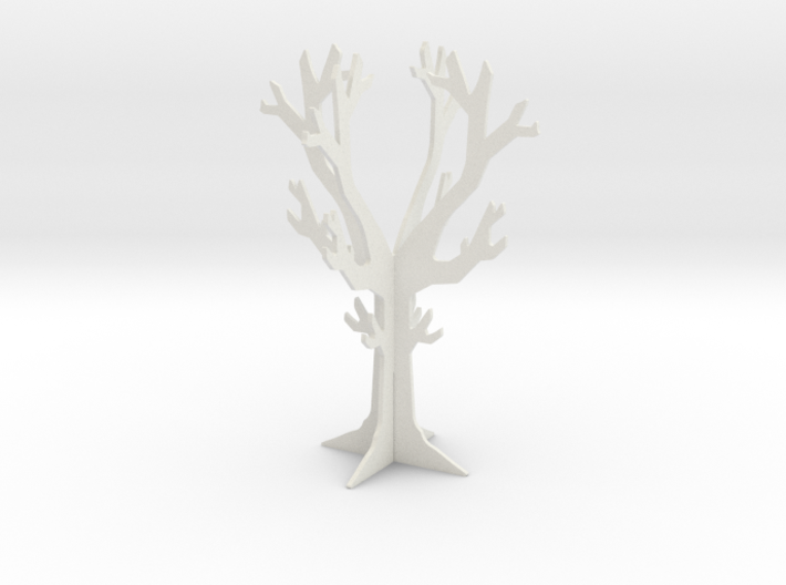 Desk top tree decoration 3d printed