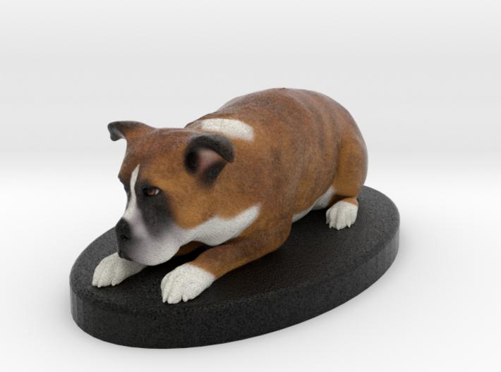 Custom Dog FIgurine - Mikey 3d printed