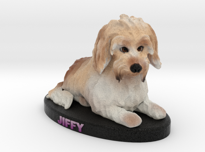 Custom Dog Figurine - Jiffy 3d printed