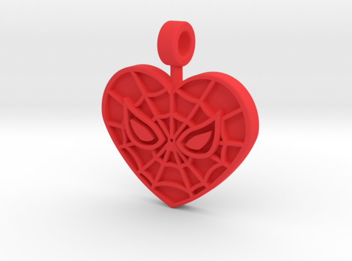 Mary Jane Pendant 3d printed