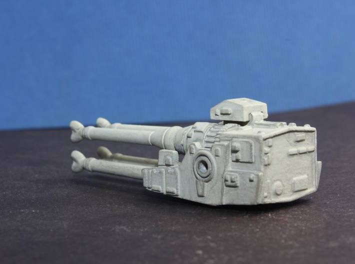 YT1300 DEAGO LASER CANNON  3d printed Falcon quadlaser, painted and weathered.