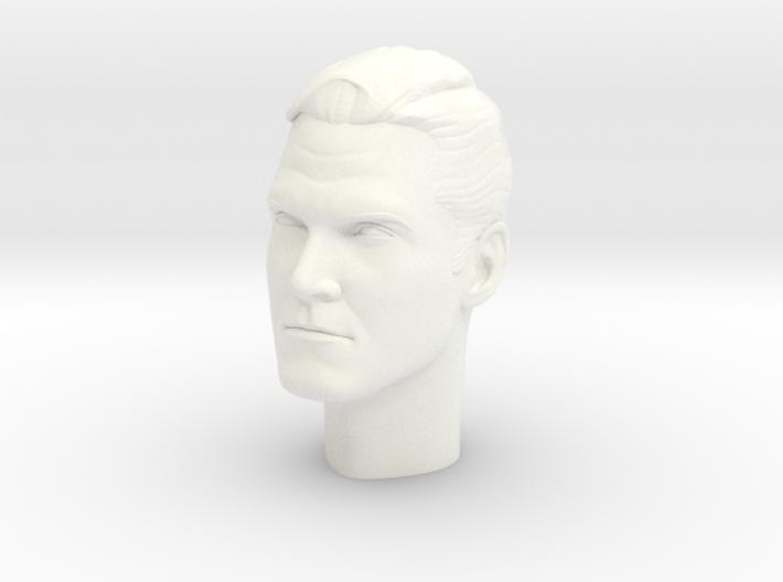 1:6 Scale Clayton Moore Head 3d printed