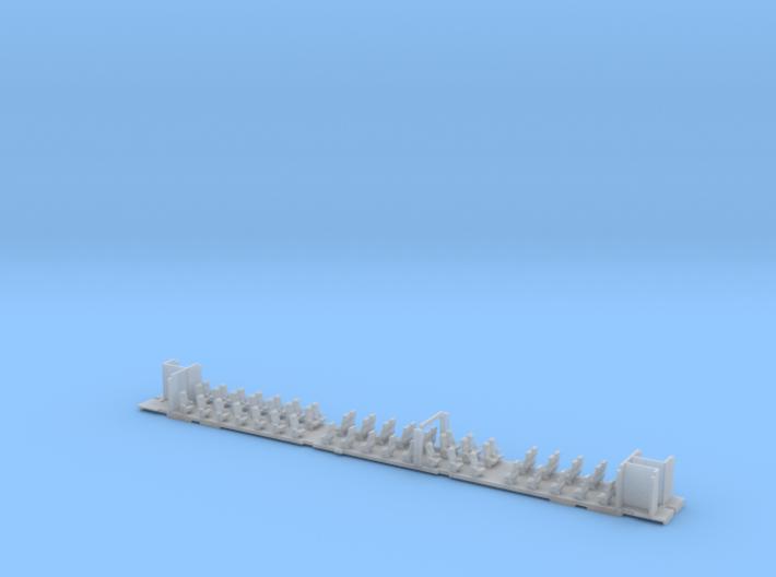 Inneneinrichtung Interex 1. Klasse TT 1:120 3d printed