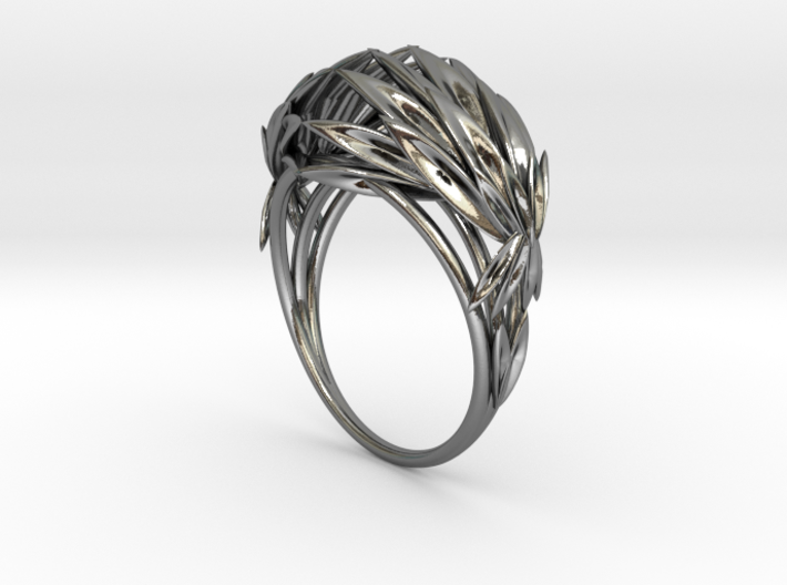 Oath Ring (size 7.25) 3d printed