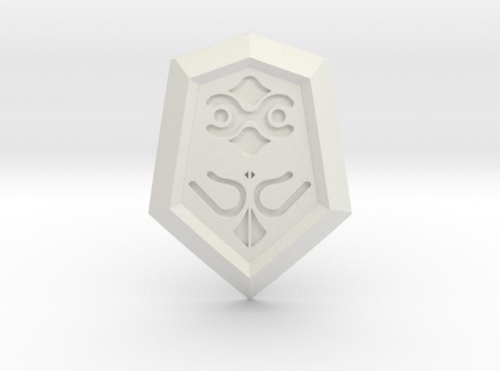 Mirror Shield I 3d printed