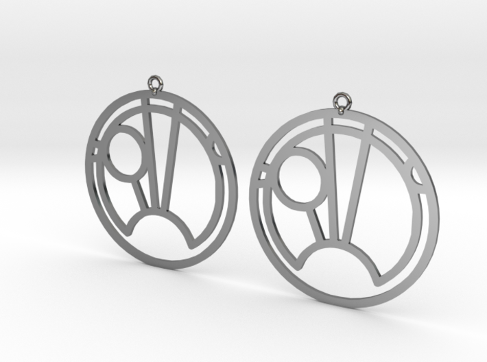 Sam - Earrings - Series 1 3d printed