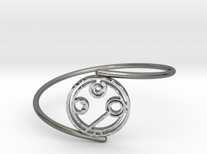 Annabel - Bracelet Thin Spiral 3d printed