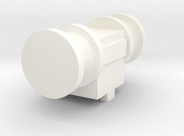 Simple small Anchor Winch (1:200) 3d printed