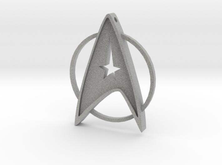 StarTrek Amulet 3d printed