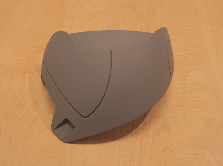Iron Man Mark IV Shoulder Armor (Outer Left) 3d printed Actual 3D Print, After being sanded and primed