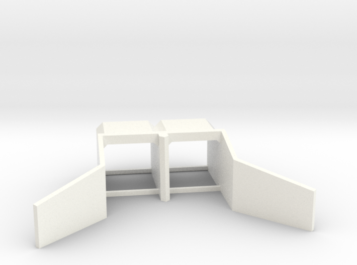 N Scale Culvert At 17 Mile Road 3d printed
