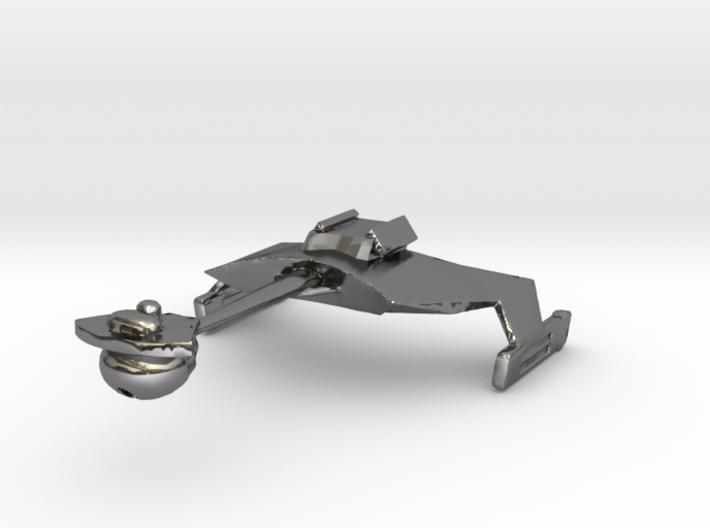 Klingon D7 Re-sized 3d printed