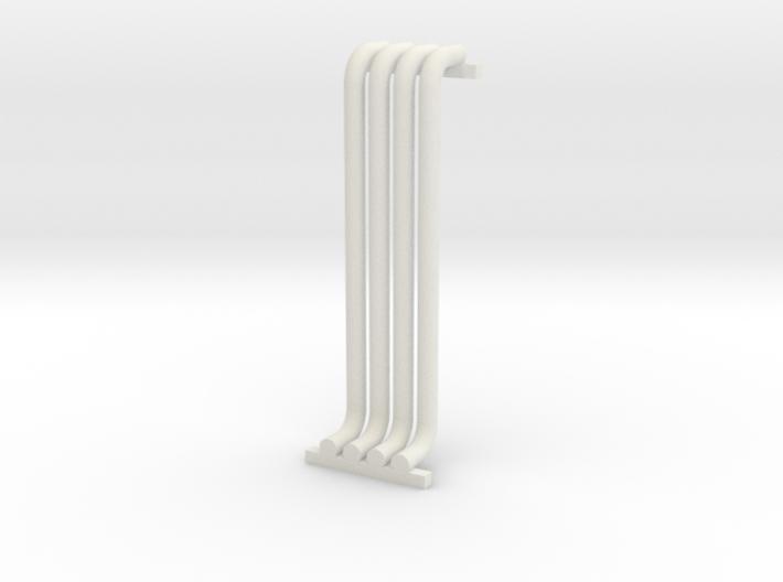 N Scale Pipe Rack Riser 28mm 3d printed