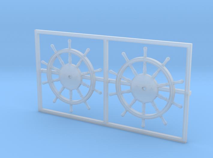 1:72 HMS Victory Ships Wheel 3d printed