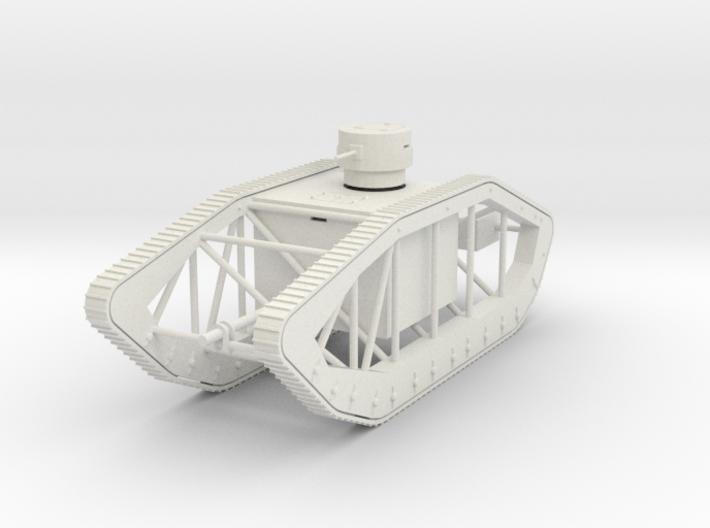 PV32B Pioneer Skeleton Tank (1/72) 3d printed