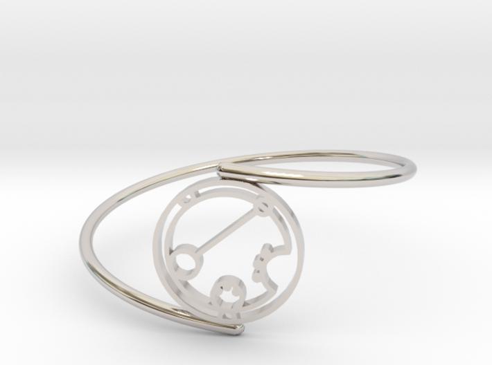 Darian - Bracelet Thin Spiral 3d printed